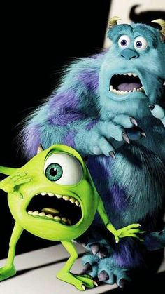 Imagem de disney, monsters inc, and wallpaper