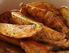 The secret recipe for Greek potatoes (like at Old Duluth)! - The secret recipe for Greek potatoes (like at Old Duluth) ! Best Italian Recipes, Greek Recipes, Favorite Recipes, Potato Recipes, Snack Recipes, Cooking Recipes, Bbq Buffet, Greek Potatoes, Confort Food