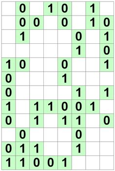 Number Logic Puzzles: 20513 - Binary size 3