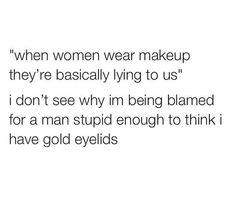 Men and makeup!