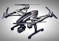 Typhoon Drone - Yuneec's Typhoon is a compact, long ultra HD drone with features like a Gimbal, automatic home return, iPhone & Android real-time streaming, & a battery that delivers of continuous flying. Leica, Microsoft, Xbox, Pilot, Remote Control Drone, Dji, Phantom 4, Flying Drones, Drone For Sale