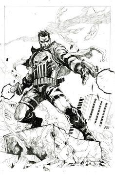 Punisher Illustration