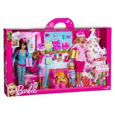 Barbie Sisters Holiday 4 Pack