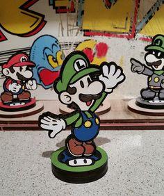 Custom Paper Mario Amiibo by SuperAmiigos - Luigi                                                                                                                                                                                 More