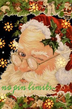 Santa knows...no pin limits~ Father Christmas, Santa Christmas, Christmas Pictures, Christmas Holidays, Christmas Crafts, Christmas Mantles, Primitive Christmas, Country Christmas, White Christmas