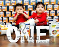 Our First birthday formula photo shoot