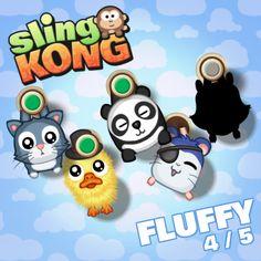 Fluffy 4/5! #SlingKong http://onelink.to/slingkong