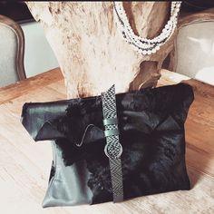 Leather Clutch N.14