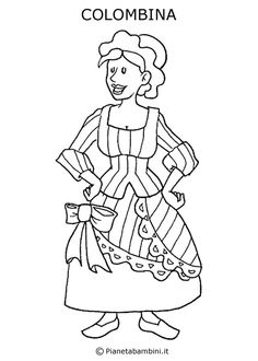 17 Fantastiche Immagini Su Carnevale Art Crafts Coloring Pages
