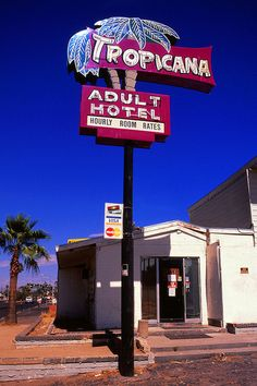 Tucson, Arizona I knew Arizona was full of whores! Station Essence, Vintage Oddities, Vegas Lights, Vintage Neon Signs, Vintage Hotels, Neon Nights, Hotel Motel, Neon Light Signs, Roadside Attractions