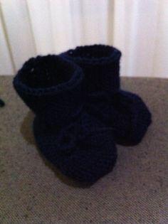 Sapatinhos de tricot Miguel