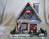 Jean's Favorite Christmas House--Miniature Christmas House