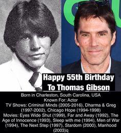 July 3: Happy 55th Birthday to Thomas Gibson #thomasgibson #actor #criminalminds #dharmaandgreg #eyeswideshut #bornonthisday #happybirthday