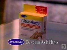 Dr. Scholl's Clear Away Commercial 1993