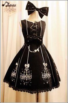 cf90f301e69 HMHM - Classical Velveten Chandelier JSK Lolita Style