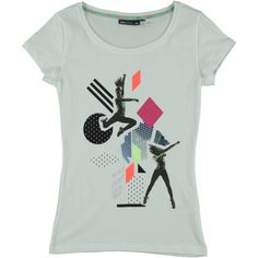 Only Play t-shirt stampa ballerini. Disponibile in 2 varianti colore | Nico.it - #nicoit #moda #fashion #ss15 #springsummer #spring #summer #fashionista #love #bestoftheday #me #outfit #lookoftheday #picoftheday #newcollection #newarrivals #onlyplay