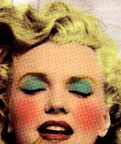 Pop Art Marilyn Monroe by champagne!, via Flickr