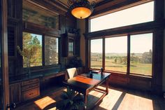 Luxury Custom Home Office By Timber Ridge Properties traditional-home-office