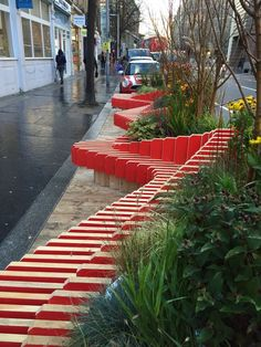 Parklet, Tooley St, London. Click image to tweet and visit the slowottawa.ca boards >> http://www.pinterest.com/slowottawa