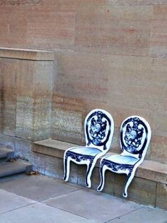 bench cushions - must be inspired by salvador dali painting 'melting clock'