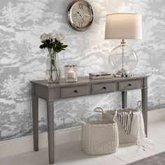 living hall wall silver brown frost decor hallway range samples bedroom grahambrown latest designs