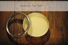 Homemade paw balm for dogs