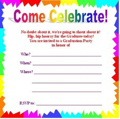 Free Printable Birthday Invitations Templates  My Birthday