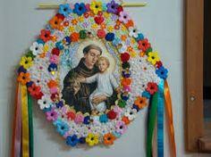 Resultado de imagem para estandarte de santo