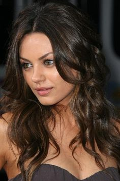 Have the biggest female crush on her ever! Love Mila Kunis <3