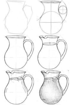 Magnificent Antique Vases Metropolitan Museum Ideas 4 Surprising Useful Tips: Modern Vases Arrangement geometric vases etsy.White Vases With Flowers antique vase Pencil Art Drawings, Art Drawings Sketches, Easy Drawings, Metropolitan Museum, Glue Gun Crafts, Perspective Art, Perspective Drawing Lessons, Object Drawing, Still Life Drawing