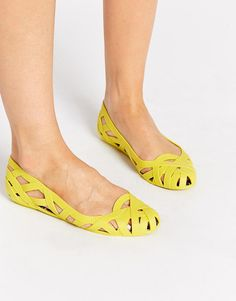 Image 1 of Jason Wu + Melissa Jean Cut Out Flat Shoes