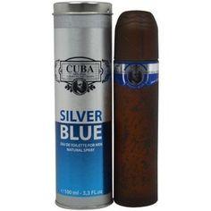 Perfume Cuba Silver Blue EDT Masculino 100ml Cuba