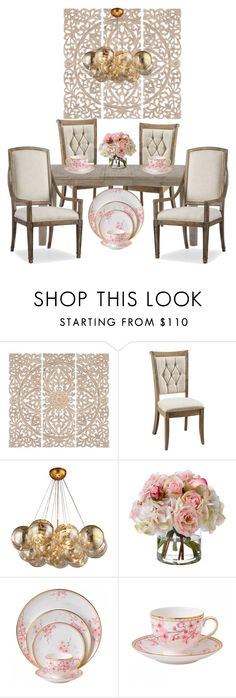 """Untitled #16"" by lexistirman ❤ liked on Polyvore featuring interior, interiors, interior design, home, home decor, interior decorating, Home Decorators Collection, DutchCrafters, Diane James and Hooker Furniture"