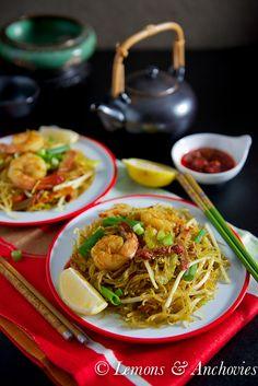 Singapore Noodles @Jean Pope | Lemons & Anchovies