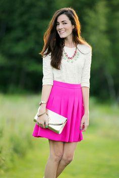 pink & creme