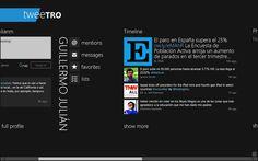 Tweetro para Windows 8, ahogada por el límite de usuarios de Twitter  http://www.genbeta.com/p/72688
