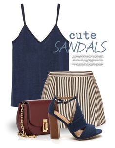 """Cute Sandals 1649"" by boxthoughts ❤ liked on Polyvore featuring MANGO, 3.1 Phillip Lim, Marc Jacobs and Rachel"