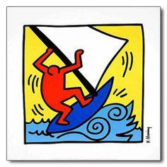 Kunstdruck Keith Haring:<br> Untitled, 1987 - H1340