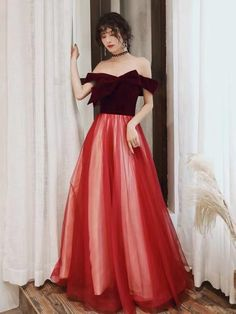 Red party dress off shoulder evening dress backless prom dress tulle long formal dress sold by Happinessdress. Shop more products from Happinessdress on Storenvy, the home of independent small businesses all over the world. Backless Prom Dresses, Tulle Prom Dress, Lace Evening Dresses, Party Dress, Formal Dresses, Off Shoulder Evening Dress, Shoulder Dress, Red Party, Moonlight