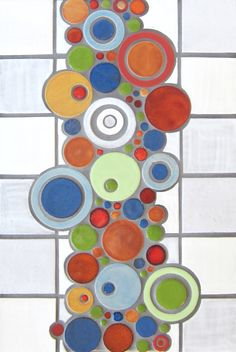 FUN FUN FUN This is a small representation of the ceramic tile available from Studio V171. Visit The Tile Gallery to see all the sizes, patterns, and colors available.
