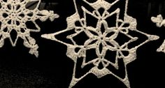 Quick peek at stage decorations for Christmas tour 2014 Crochet Snowflakes, Stage Decorations, Merry, Hair Accessories, Thankful, Tours, Stitch, Christmas, Beautiful