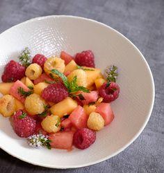 Dessert Melon, Dessert Aux Fruits, Vegan, Melons, Fruit Salad, Food Porn, Cooking, Recipes, Dressage