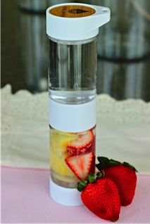 Fresh Pineapple and Strawberries in the Define Bottle - so, so sweet