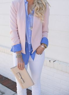 Blush blazer // Butt