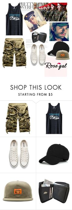 """""""Come home!!"""" by david111 ❤ liked on Polyvore featuring Kavu, Converse, Stussy, men's fashion and menswear"""