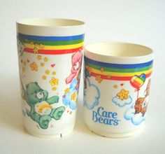 These were my fav drinking cups when i was little! I drank outta them till they started to fade and crack!!!