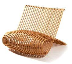 Wood chair de Marc Newson, 1992   www.bijdendom.nl