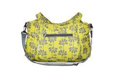Kids Line Carryall Diaper Bag, Lime Ginko Print by Kids Line, http://www.amazon.com/gp/product/B004W3B6UE/ref=cm_sw_r_pi_alp_QwyVpb03VHSV7