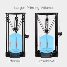 Anycubic 3D Printer impresora 3D Pulley Version Linear Guide imprimante 3d printer diy Large Printing Size //Price: $191.10//     #gadgets