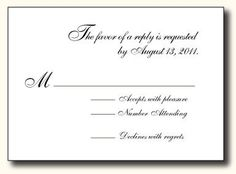 1000 images about wedding ideas on pinterest hair for Rsvp stand for on an invitation